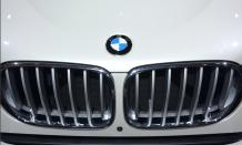 L'identité visuelle de BMW a fait son effet au salon de l'auto. (Crédit photo : Jérémy Satis)
