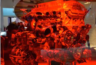 Citroën, sous son appellation Creative Technology, a développé son moteur THP 165 S&S. 165 chevaux pour une consommation de 5,6 l/100. Performance. (Crédit photo : Jérémy Satis)
