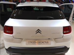 Le Citroën C4 cactus est une voiture polyvalente. Le confort est le critère numéro 1 avec une habitabilité importante (4,16m de long coffre de 358 litres) . (Crédit photo : Jérémy Satis)