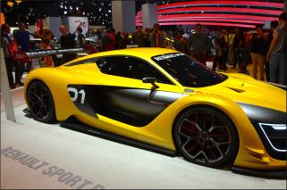 L'aérodynamisme est la qualité première de la Renault Sport 01. (Crédit photo : Jérémy Satis)