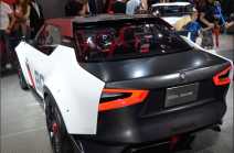 Le concept car Idx Nismo de Nissan cible les jeunes (18-30 ans), la génération digitale. (Crédit photo : Jérémy Satis)