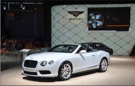 En image, la GT V8S de Bentley. (Crédit photo : Jérémy Satis)