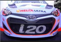 Hyundai est arrivé en Rallye cette saison avec sa i20 et a déjà remporté une étape (Allemagne) (Crédit photo : Jérémy Satis)