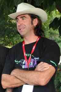 Gilles Mordant, directeur artistique et co-fondateur de l'association. (Crédits Eloïsa Patricio)