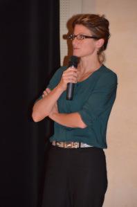 Kristin Cairns est interprète depuis plus de 10 ans. (Crédit photo : Jérémy Satis)