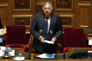 « Gérard Larcher, élu pour la seconde fois président du Sénat, après la période 2008-2011 » (Crédits Photo : Benoit Tissier/REUTERS).