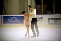 Bianca Manacorda et Niccolo Macii (Italie) ont terminé 4è en patinage par couple (crédit photo : Eva Garcin)