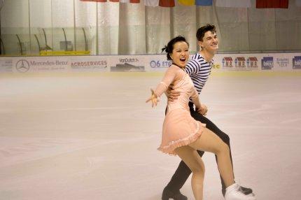 Yura Min et Timothy Koleto (Corée), très expressifs dans leur programme de gala (crédit photo : Eva Garcin)