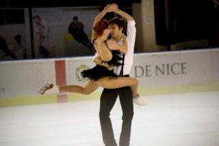 La danse sur glace nécessite de la symbiose entre les deux partenaires (crédit photo : Eva Garcin)