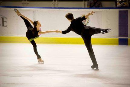Le patinage par couple: légèreté et précision (crédit photo : Eva Garcin)