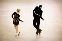 Penny Coomes et Nicholas Buckland (Grande-Bretagne), 1er de la catégorie danse sur glace (crédit photo : Eva Garcin)