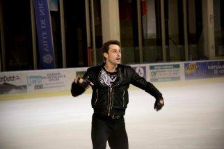 Brian Joubert, grand patineur français, a fait le show devant le public très enthousiaste (crédit photo : Eva Garcin)