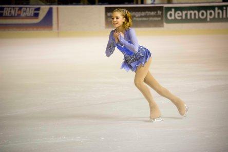 Danielle Harrisson (Grande-Bretagne) a fini 3è dans la catégorie junior dames (crédit photo : Eva Garcin)