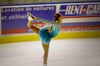 Le patinage artistique demande beaucoup de souplesse (crédit photo : Eva Garcin)