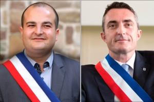 David Rachline et Stéphane Ravier sont les premiers maires-sénateurs du FN / AFP