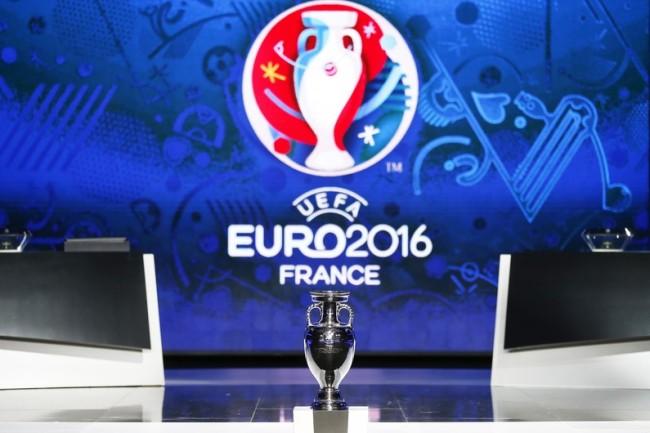 Présentation de la coupe de l'Euro 2016 à Nice. (crédit photo: V. Hache /AFP)