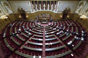 « L'hémicycle du Sénat n'est pas toujours un exemple d'assiduité. » (Crédits photo : Eric Feferberg/AFP lefigaro.fr)