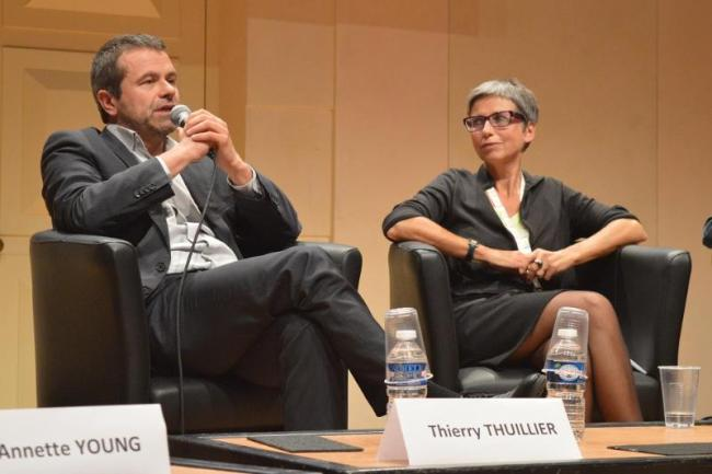 Thierry Thuillier, directeur des programmes de France 2 : « Je nomme beaucoup de femmes à des postes de responsabilité ». (Crédit Mathias Hubert)