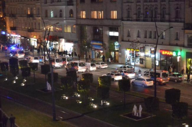 « Convoi de policiers » : Avec une manifestation de cette ampleur, la sécurité était de mise (crédit PB)