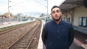 À 26 ans, Karim alias Infinit est LE rappeur azuréen. (Erwan Schiex)