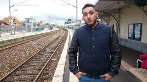 Ambitieux, le jeune artiste compte prendre le train en marche sur la route du succès (Erwan Schiex)