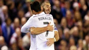 On attendait Ronaldo et son record, ce fut finalement Karim Benzema qui donna la victoire aux Madrilènes. (Crédit Photo : D.R.)