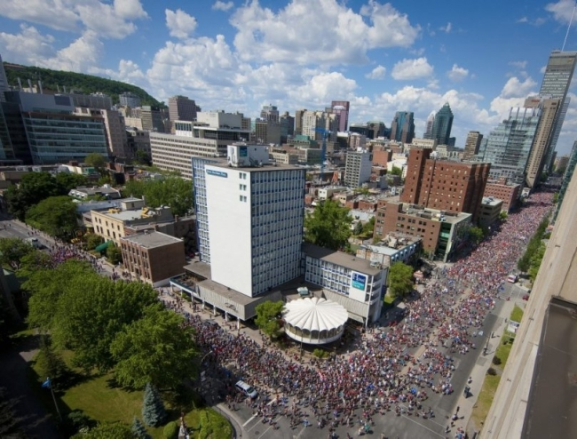 Manifestation nationale du 22 juin 2012, à Montréal. (Crédit Photo : André Pichette)