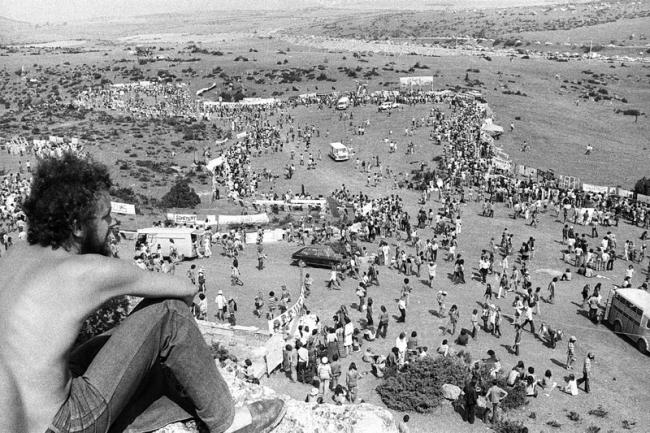 Le plateau du Larzac n'a jamais été aussi peuplé qu'en 1974. (Crédit photo : Gérard Bonnet)
