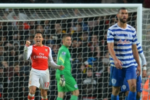 Alexis Sanchez, l'un des artisans de la victoire d'Arsenal ce 26 décembre. (Crédit photo : AFP/Glyn Kirk)