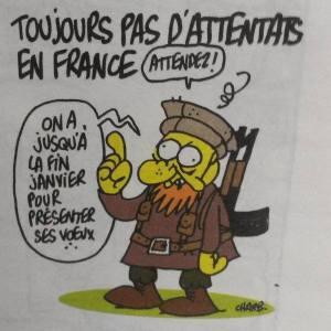 Le dernier dessin de Charb s'est malheureusement révélé comme étant prémonitoire.