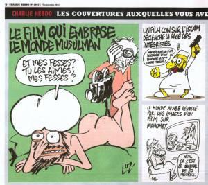 Charlie Hebdo récidive avec une nouvelle caricature de Mahomet.