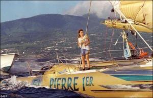Florence Arthaud, « la petite fiancée de l'Atlantique » / (crédit photo : D.R)