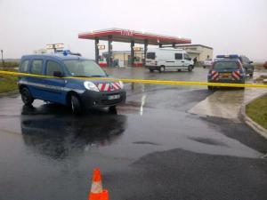 Les suspects ont été identifiés dans une station service de l'Aisne. Crédit : François Becker AFP