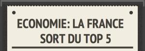 France sort top 5