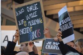 Juifs, chrétiens, musulmans, Charlie est partout. (Crédit photo : Jérémy Satis)
