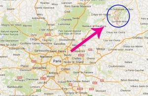 Les deux suspects ont été  repérés dans l'Aisne. Crédit : MB