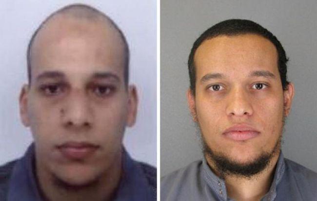 Légende : La police a diffusé une photo des deux suspects.