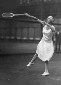 Suzanne Lenglen a marqué le tennis de son empreinte/ (crédit photo :D.R)