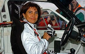 Michèle Mouton, pilote de rallye/ (crédit photo : D.R)