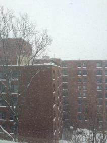 A Boston, la neige tombe dru {crédit: @BenjamLevy)