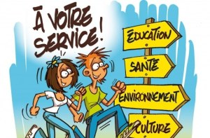 Dessin service civique