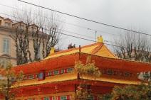 Les constructions de la fête comprennent une majorité de citronS, le reste étant des oranges et autres agrumes (Crédit : S.F.)
