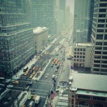 De jour, Park Avenue tourne au ralenti (crédit: @4lisaguerrero)