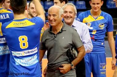 Alain Griguer est fier du club qu'il a bâti. (Crédit photo : www.magsport06.fr)