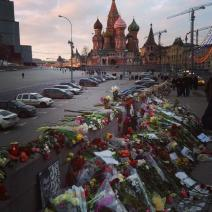 Au petit matin, la peine russe perdure (crédit : Anca Prodan)