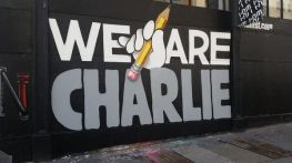 """We are Charlie"" à New York aux Etats Unis (d'Amérique). Crédits : Flickr"
