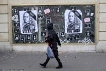 """Voltaire est en deuil depuis le 7 janvier. Il aurait probablement été """"Charlie"""". Crédits : ABACA / Presse Association Images"""