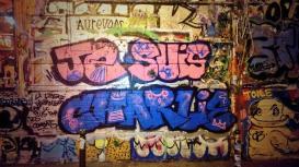 """""""Je suis Charlie"""" par un artiste de rue. Crédits : Flickr"""