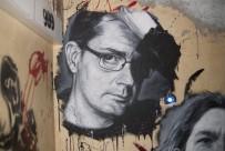 Un portrait de Charb, directeur de la rédaction de Charlie Hebdo, assassiné le 7 janvier. Crédits : Flickr