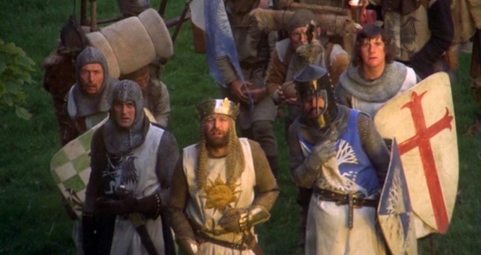 Sacr graal 40 ans et toujours culte buzzles - Film les chevaliers de la table ronde ...